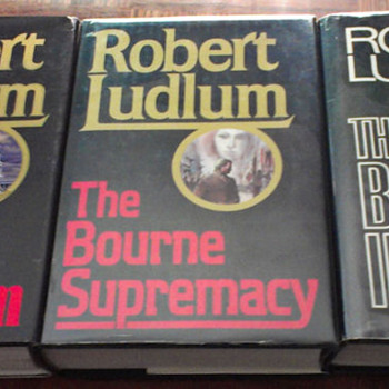 My Robert Ludlum collection (Bourne novels)