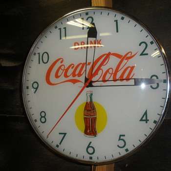 My wonderful clock. - Coca-Cola