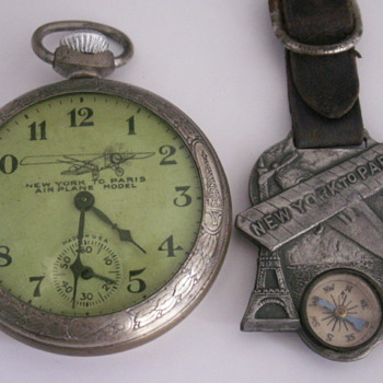 NY to Paris Watch & Fob - Pocket Watches