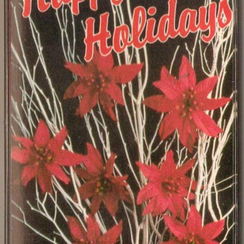 "Christmas Music ""Happy Holidays"" Cassette Tape"