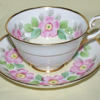 Tuscan Cup and Saucer - China and Dinnerware