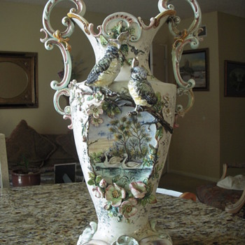 Fabulous old vase mystery - Art Pottery