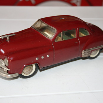 Schuco ingenico 5335 tin toy car