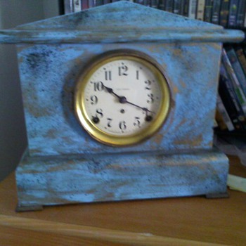 old seth thomas adamantum clock ,..reealy ugly - Clocks