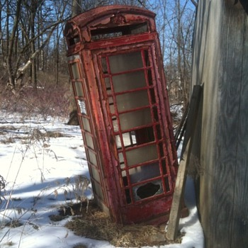 Found Telephone Booth