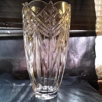 crystal vase, is it EAP? beginner collecter. - Glassware