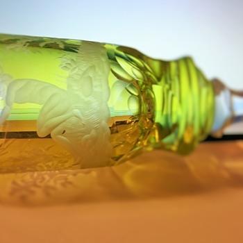 Stem Ware Etched Vintage Goblett (Heavy) - Glassware