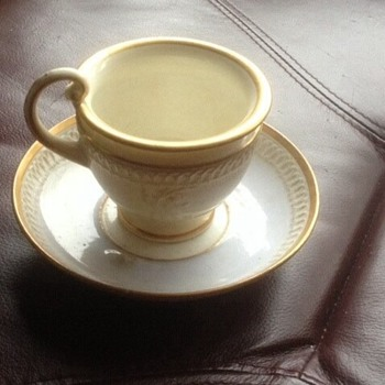 Davenport tea cup and saucer