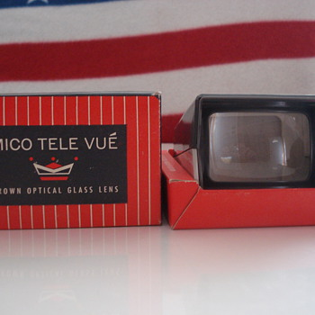 TELE VUE 35MM & BANTAM FOCUSING  SLIDE VIEWER - Cameras