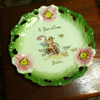 Present from Dublin Plate - China and Dinnerware