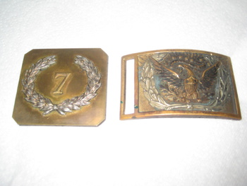 Civil War Belt Buckles Or Hollywood Movie Props Collectors Weekly