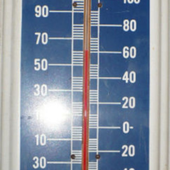 Vintage Packard Motor Car Thermometer - Signs