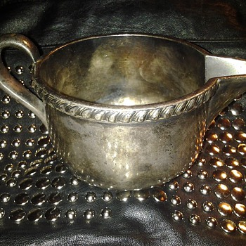 Silver Creamer