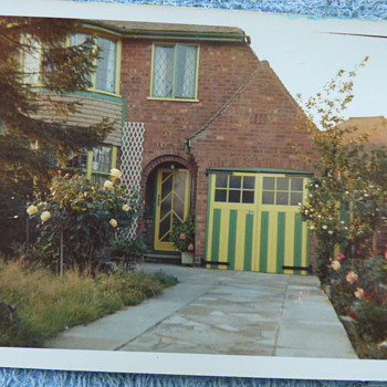 1967/8-birmingham-castle bromwich-parents house. - Photographs