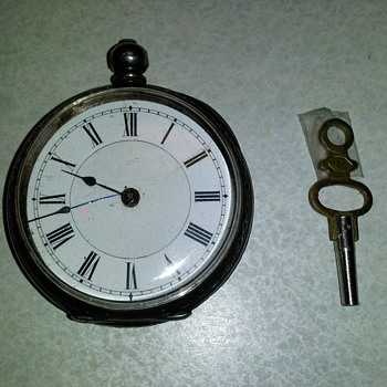 Patent Lever Specially Examined English 1850 pocket watch
