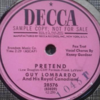 Mr. Guy Lombardo! - Records