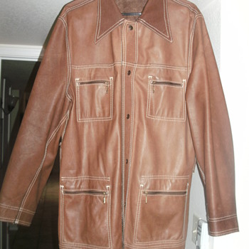 Reversible levi leather jacket - Mens Clothing