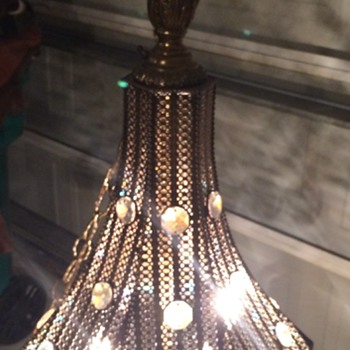 Vintage Morrocan Style Hanging Lamp