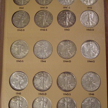 Silver U.S. Half Dollars-Barber, Walker, Franklin & Kennedy 1892 onward... - US Coins