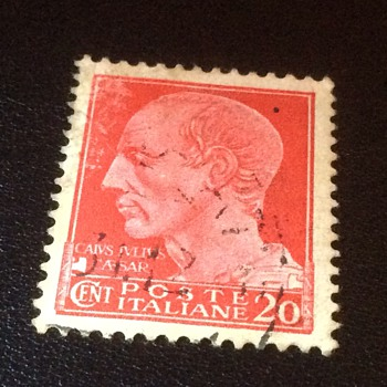 Italian stamp - Stamps