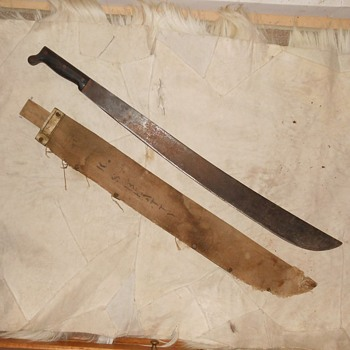 USN MK-1 Machete Legitimus Collins & Co 1942 - Military and Wartime