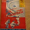 SF Giants Program - First MLB game on the West Coast - April 15, 1958