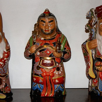 Japanese Good Fortune Gods - Asian