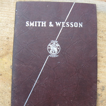 1938 Smith & Wesson Catalog - Paper