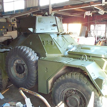 Daimler Ferret Restoration No.8 - Military and Wartime
