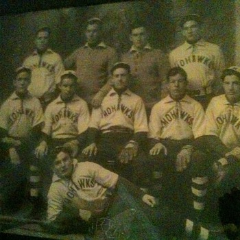 Vintage Photo of Mohawks Baseball Team