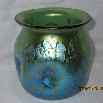 Loetz Papillon Vases - Art Glass