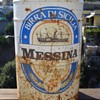 Oversized Beer Can from Birra di Sicilia (Messina) dal 1923