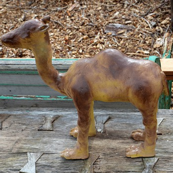 Funny looking Camel Statue - Animals