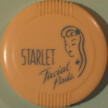 Starlet Facial Pad Container 1940s? - Accessories