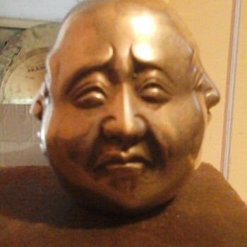 Chinese head curio. - Asian