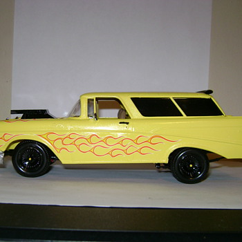 1957 Chevy Nomad - Model Cars