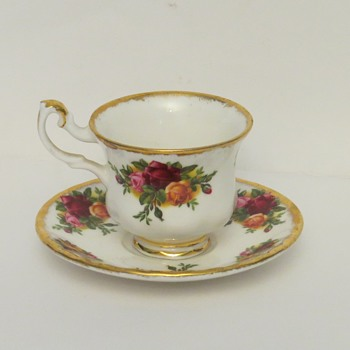 Royal Albert Miniature Cup and Saucer