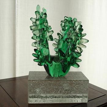 """Art glass """"cactus"""" - Art Glass"""