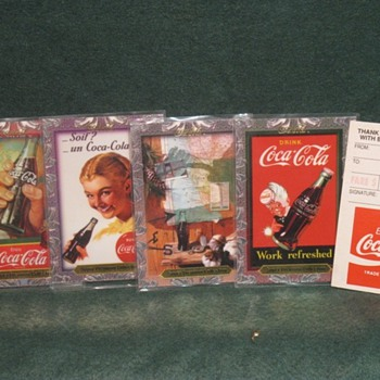 Coca cola collectible cards - Coca-Cola