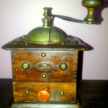 Peugeot Freres Coffee Grinder-Is this one original or a repro? - Kitchen