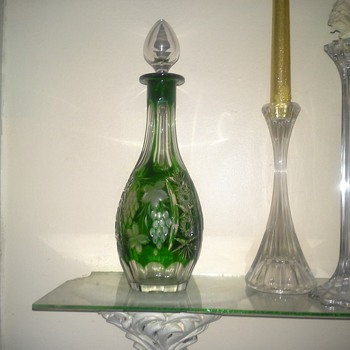 Nachtmann Traube Cut Crystal Decanter