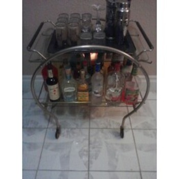 Art Deco Bar Cart