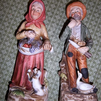 Homco Figurines #1417 - Art Pottery