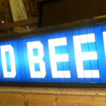 Michelob Lighted Sign - I can find no information on this piece