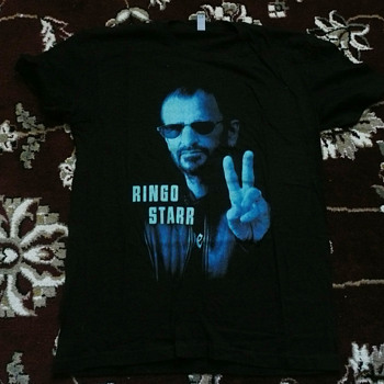 Ringo's personal South American tour shirt-2013
