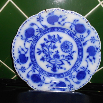 Holland China Plate.