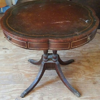 victorian coffee table and end table