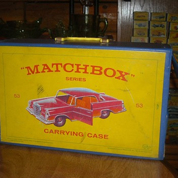 Matchbox 40 Car Carrying Case 1965