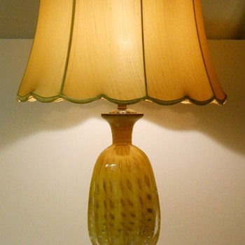 Vintage Murano Table lamp, Circa 1960-70 - Art Glass