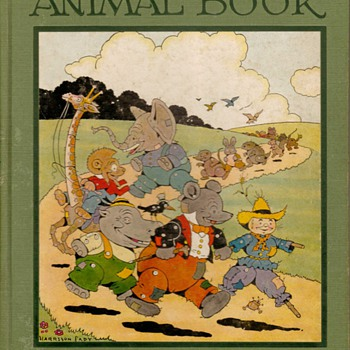 """The Raggedy Animal Book"" - First Edition 1928"